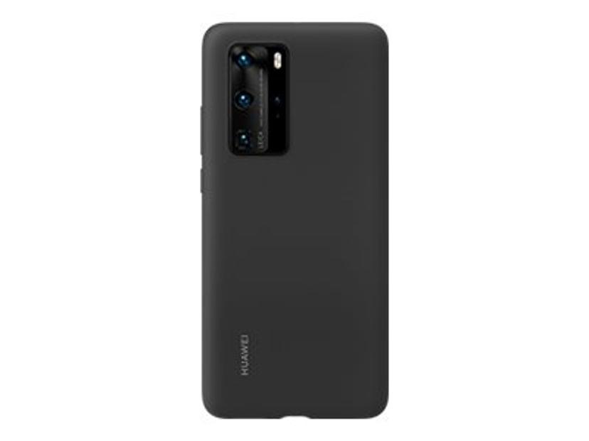 Huawei Silcone Cover Huawei P40 Pro Svart