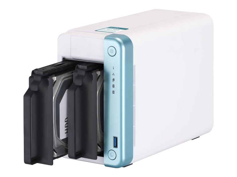 QNAP TS-251D 2G 0TB NAS-server