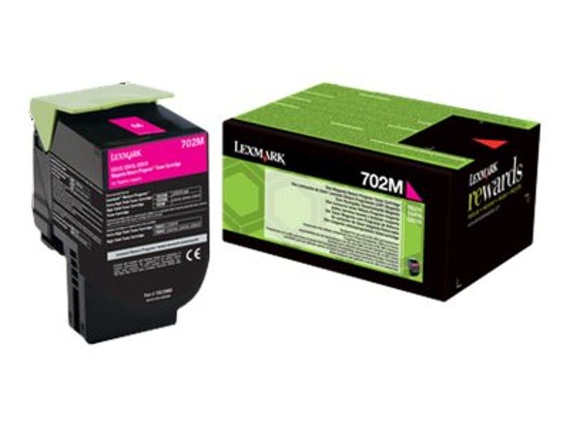 Lexmark Toner Magenta 702m 1K Return - CS310/CS410/CS510