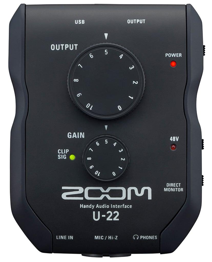 Zoom U22 Handy Audio Interface