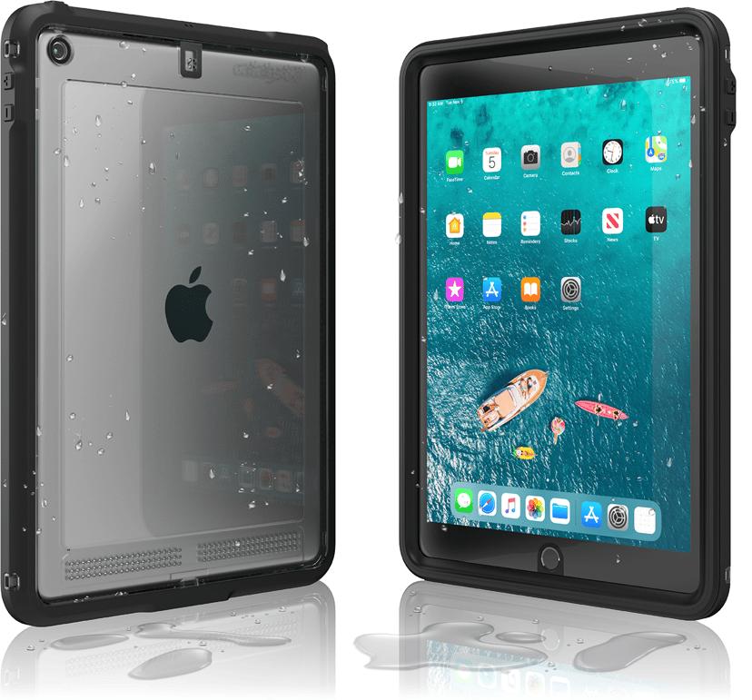 Catalyst Waterproof Case iPad 7th gen (2019), iPad 8th gen (2020) Beksvart