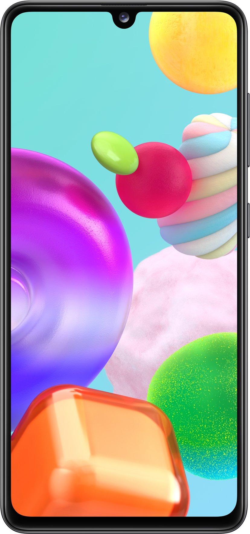 Samsung Galaxy A41 64GB Dobbelt-SIM Prisme-knusesvart