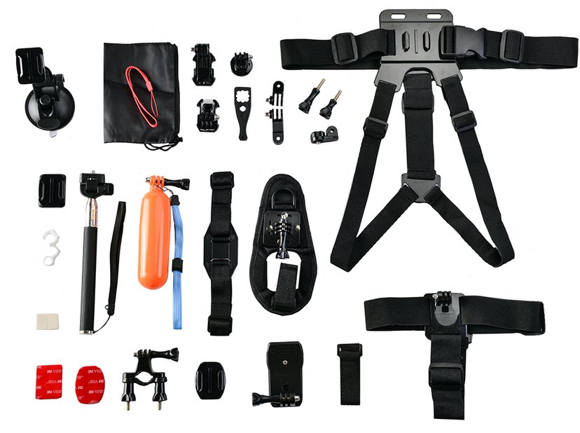 Cirafon Action Accessory Kit Till GoPro