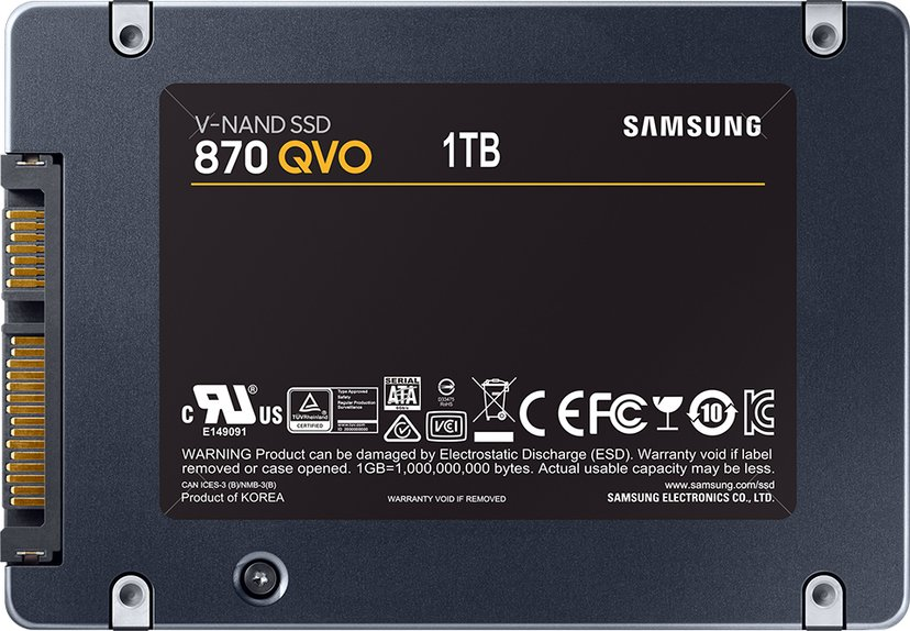 "Samsung 870 QVO 1,000GB Serial ATA-600 2.5"""
