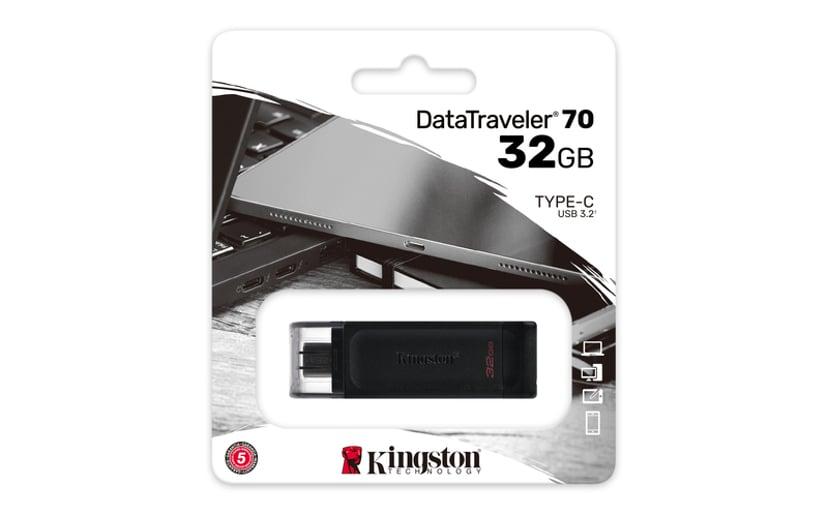 Kingston DataTraveler 70 32GB USB-C 3.2 Gen 1