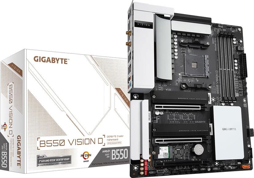 Gigabyte B550 VISION D ATX