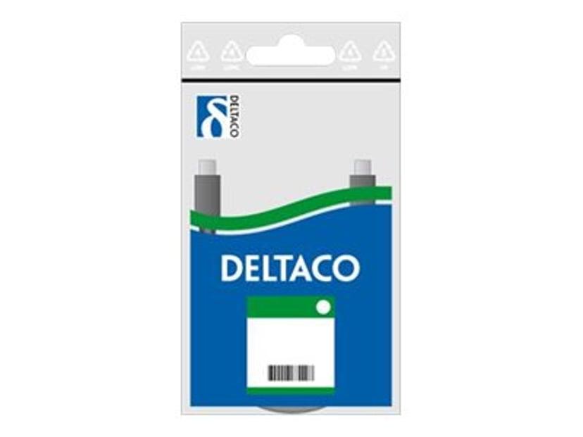 Deltaco Kytkentäkaapeli Valkoinen RJ-45 RJ-45 CAT 6 1m