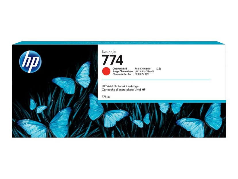 HP Blæk Chromatic Rød 774 - Dj Z6810