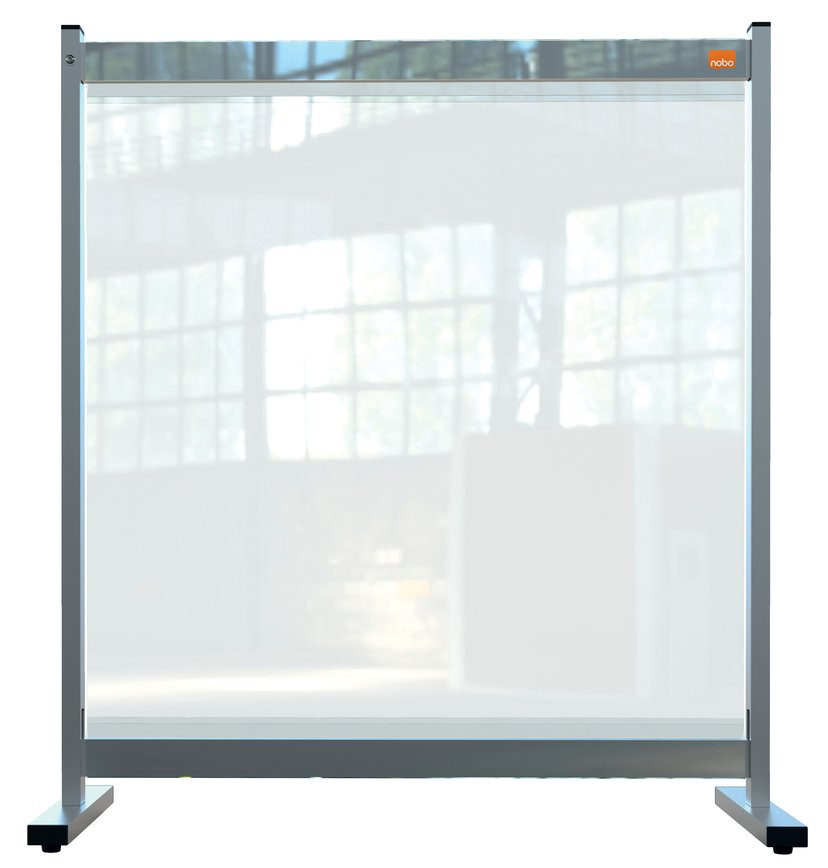 Nobo Skriveborddeler PVC Film Medium 77x86cm