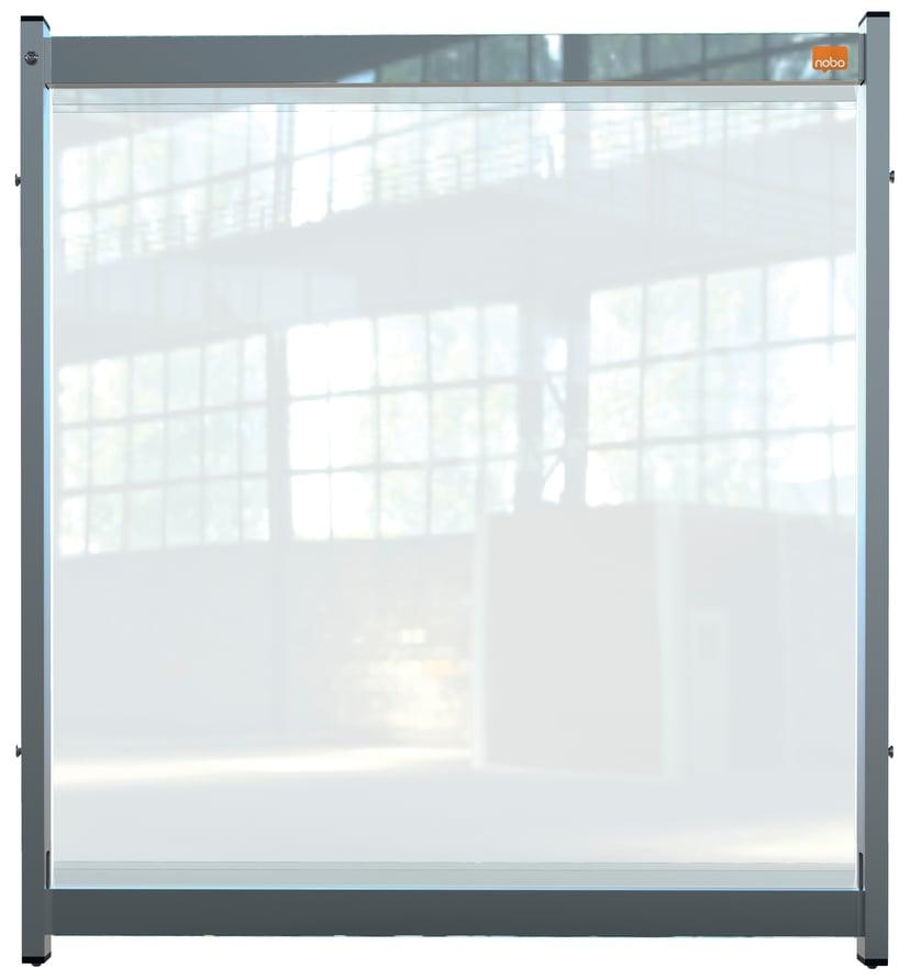 Nobo Skrivbordsavdelare PVC Film Medium 75x82cm