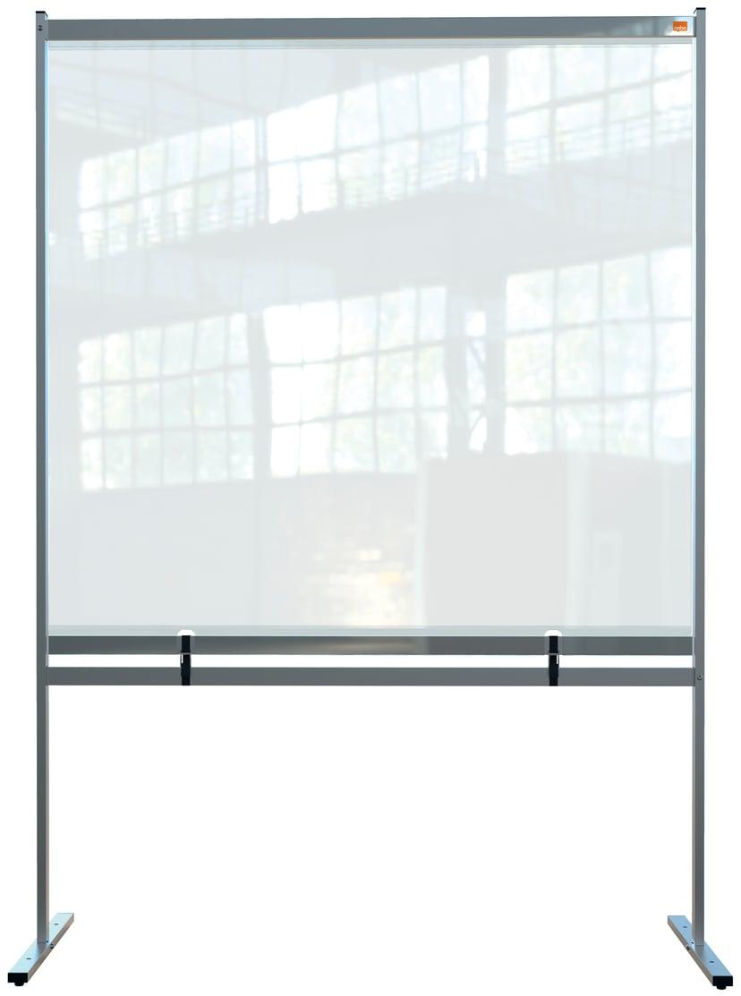 Nobo Skärmstativ Golv PVC Film Large 148x206cm