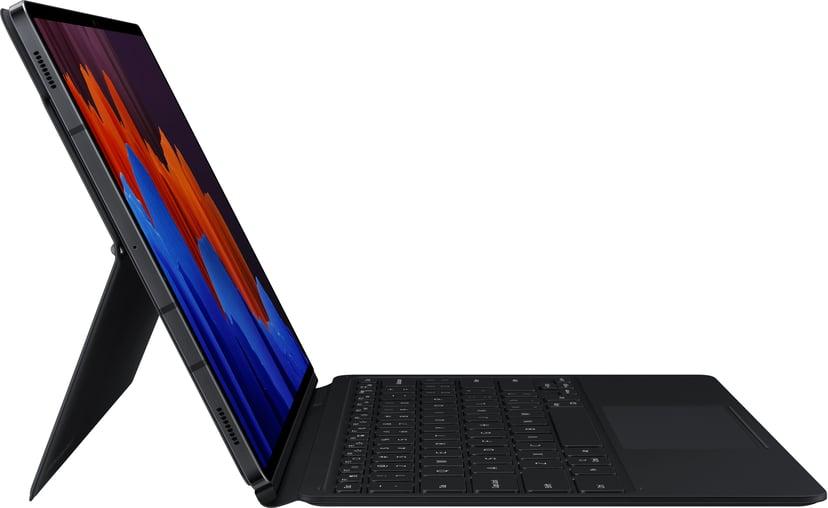 Samsung Galaxy Tab S7+/S7 FE Book Cover Keyboard Nordic