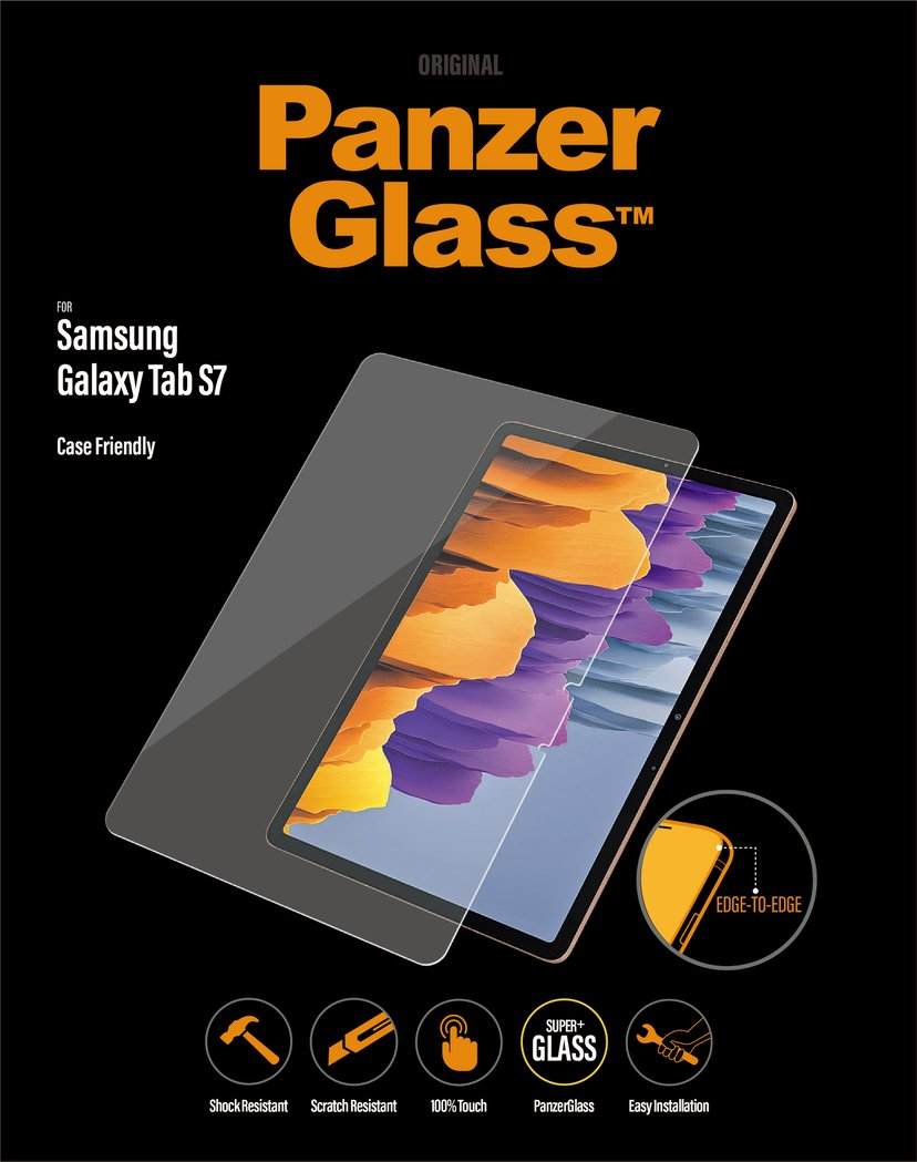 Panzerglass Samsung Galaxy Tab S7 Case Friendly Samsung Galaxy Tab S7