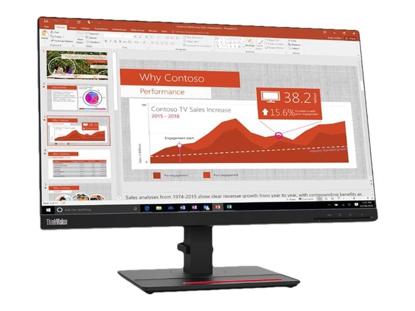 "Lenovo ThinkVision T24i-20 23.8"" FHD IPS 16:9 24"" 1920 x 1080 16:9"
