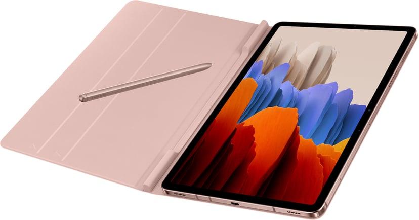 Samsung Book Cover EF-BT870 Samsung Galaxy TAB S7 Brons