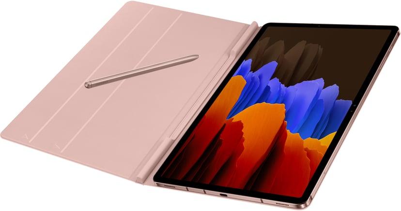 Samsung Book Cover EF-BT970 Samsung Galaxy TAB S7+ Brons