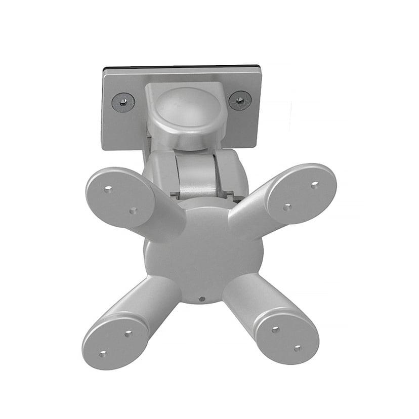 Kondator Monitor Arm 2-Joints VESA 75/100 Sølv