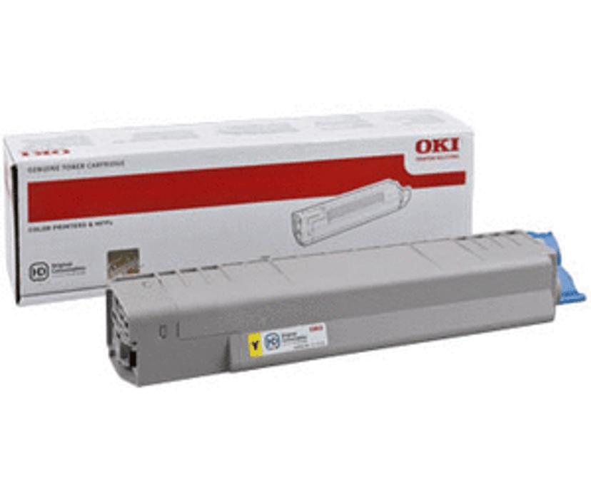 OKI Toner Gul 7.3k - MC861/851