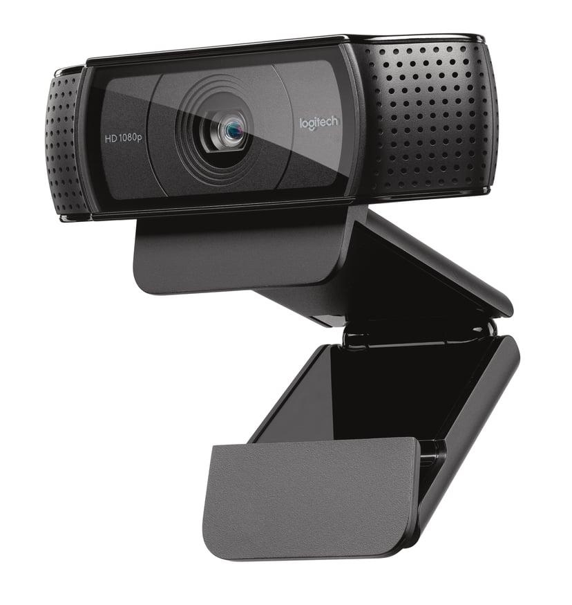 Logitech C920 HD Pro 1920 x 1080 Webkamera Sort