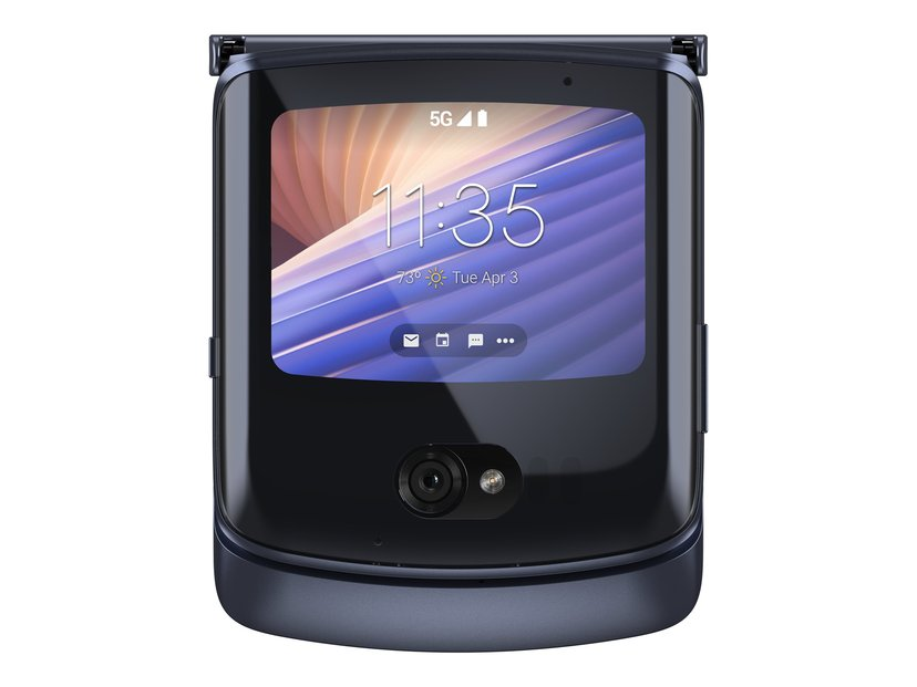Motorola Razr 5G 256GB Dual-SIM Polerad grafit