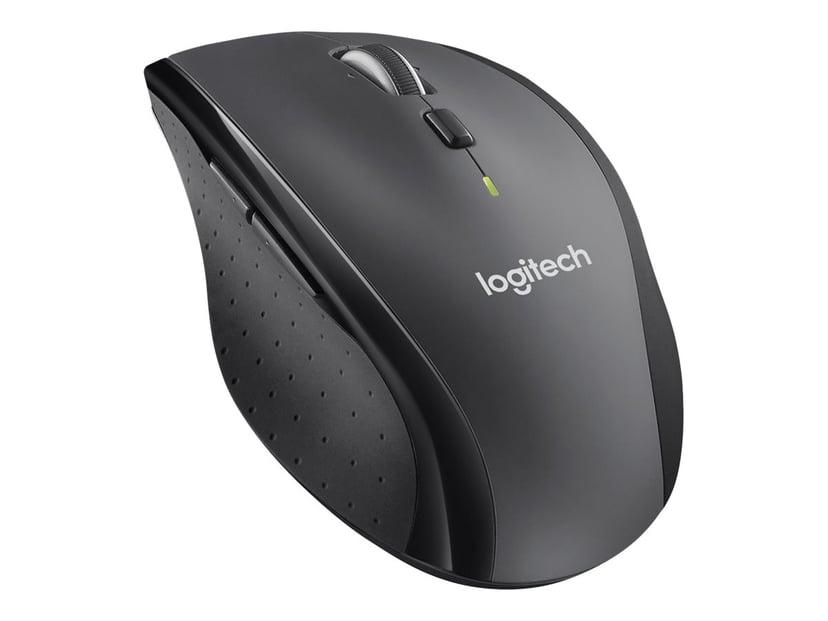 Logitech M705 Business Grå, Svart Mus Trådløs