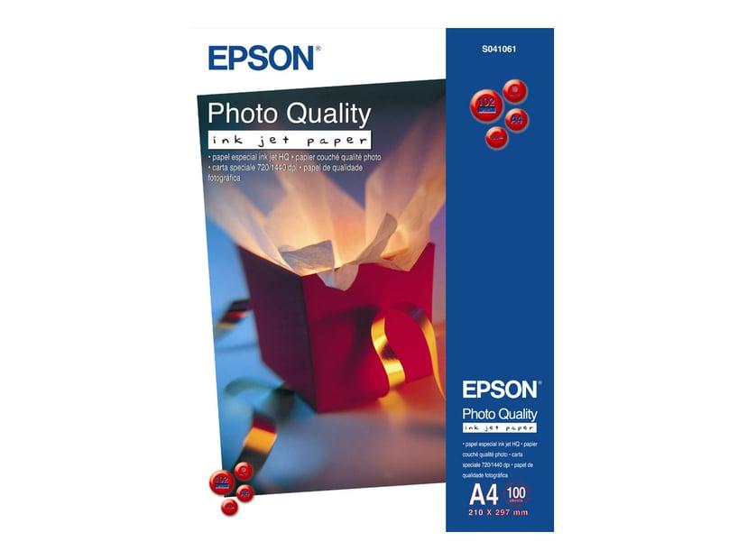 Epson Papir Photo Quality A2 30-Ark 102g