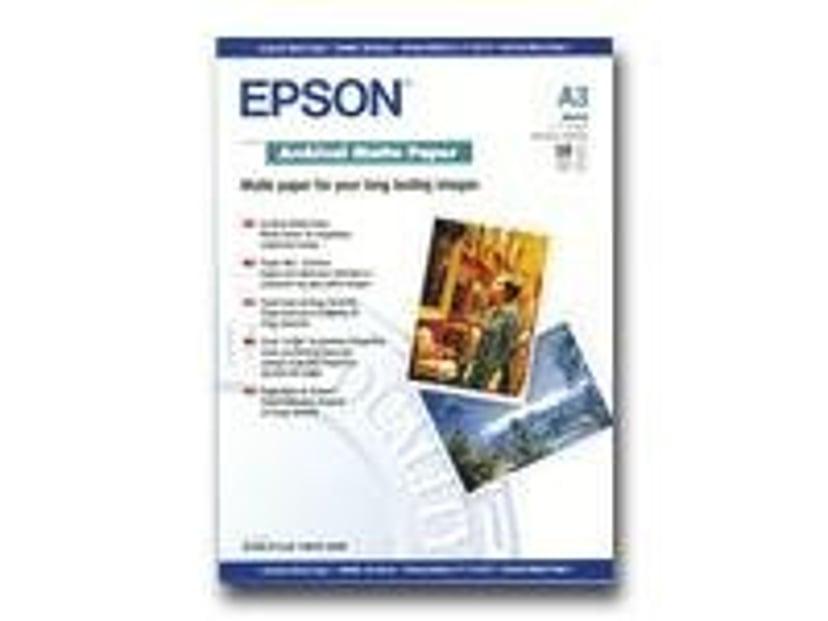 Epson Papir Archival Mattert A3 50-ark 192G