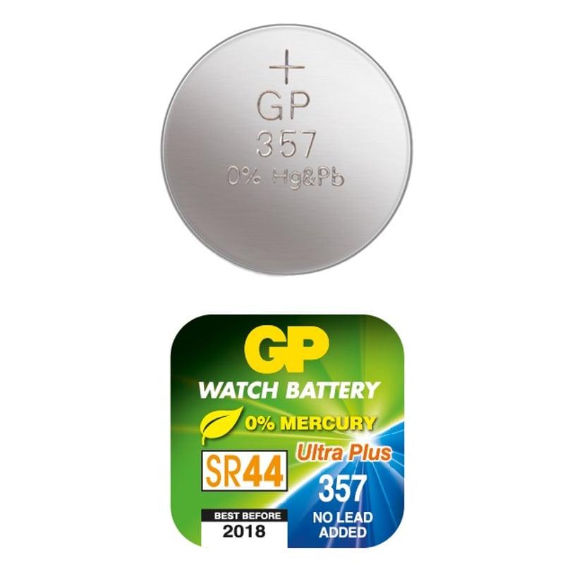 GP Knappecelle Sølv-Oxid SR44/357