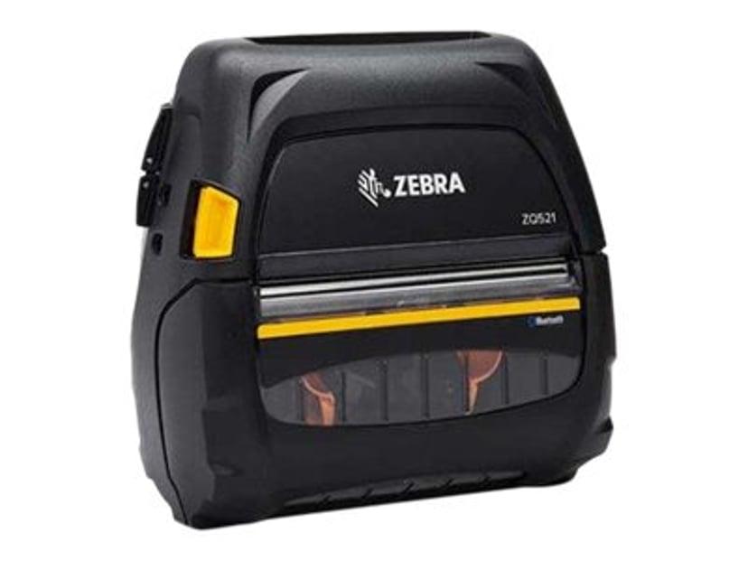 Zebra ZQ521 DT 203dpi BT/WiFi Linered Med Batteri