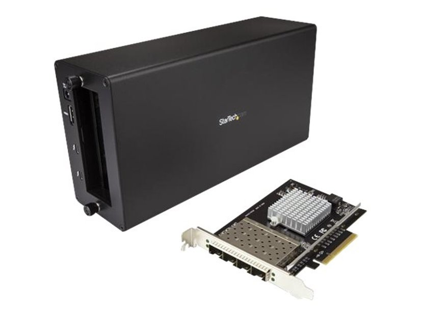 Startech Thunderbolt 3 to 10GbE Fiber Network Chassis 4 Port