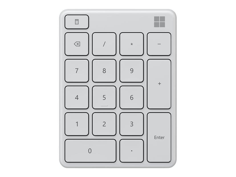 Microsoft Number Pad Trådlös Tangentsats Vit