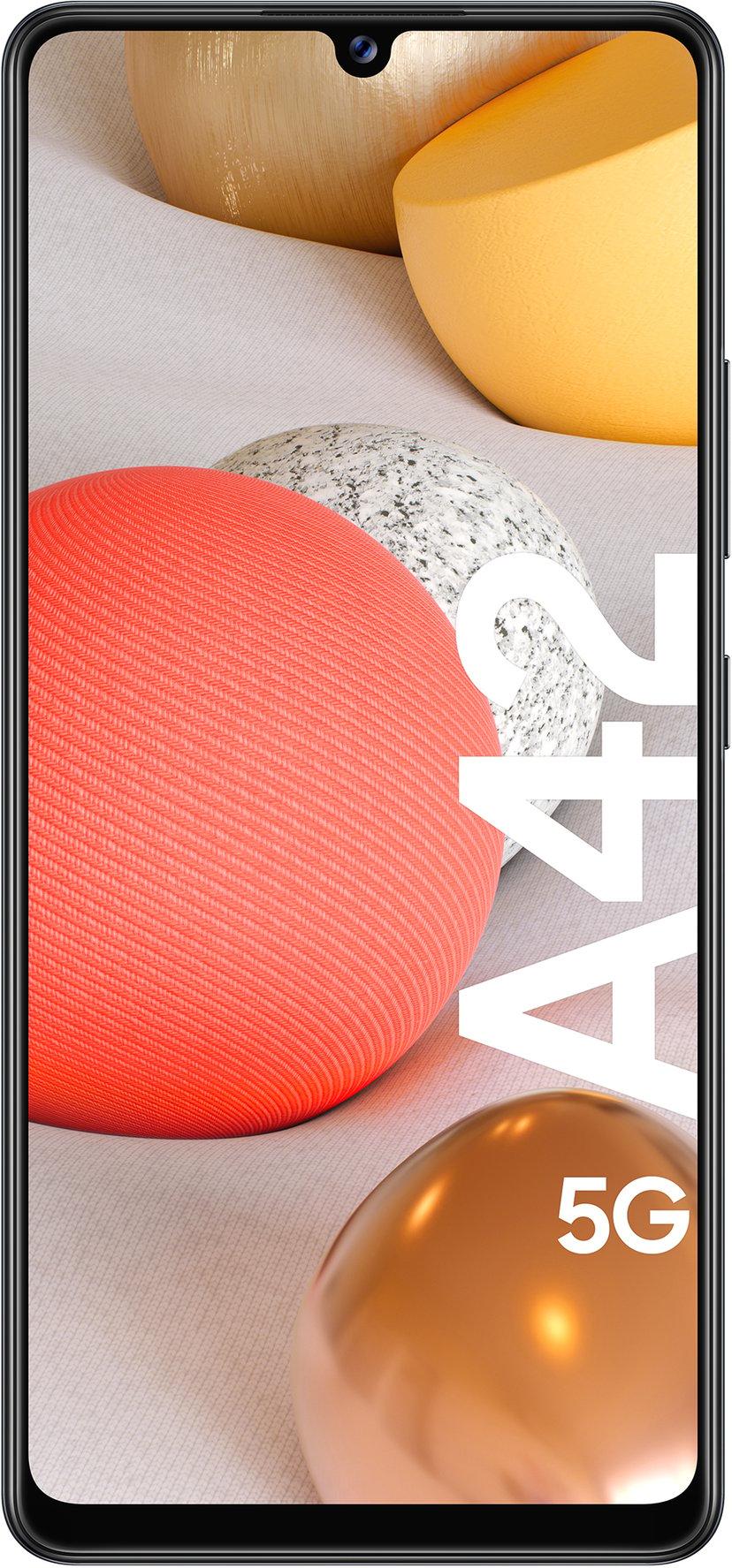 Samsung Galaxy A42 5G 128GB Dual-SIM Prisma med prickig svart