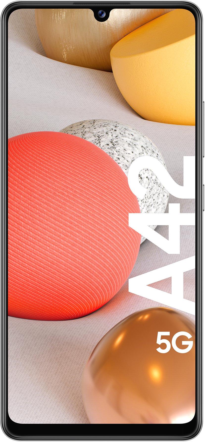 Samsung Galaxy A42 5G 128GB Dual-SIM Prismeprik grå