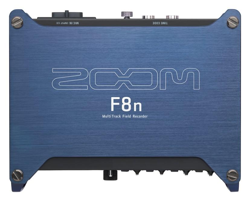 Zoom F8NMultitrack Field Recorder Blå, Svart