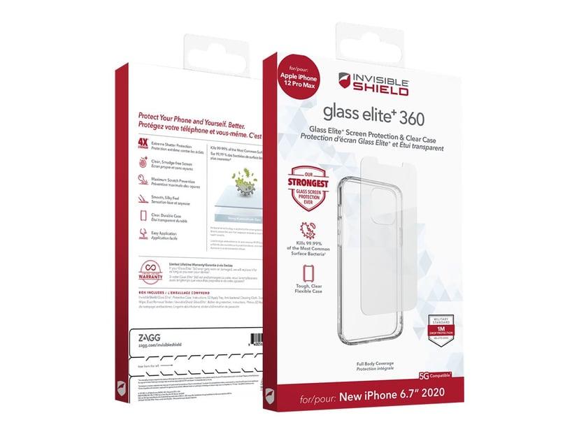 Zagg invisibleSHIELD Glass Elite+ 360 iPhone 12 Pro Max