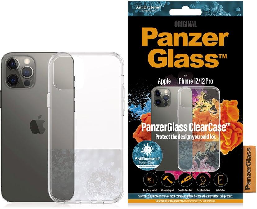 Panzerglass ClearCase iPhone 12, iPhone 12 Pro Svart