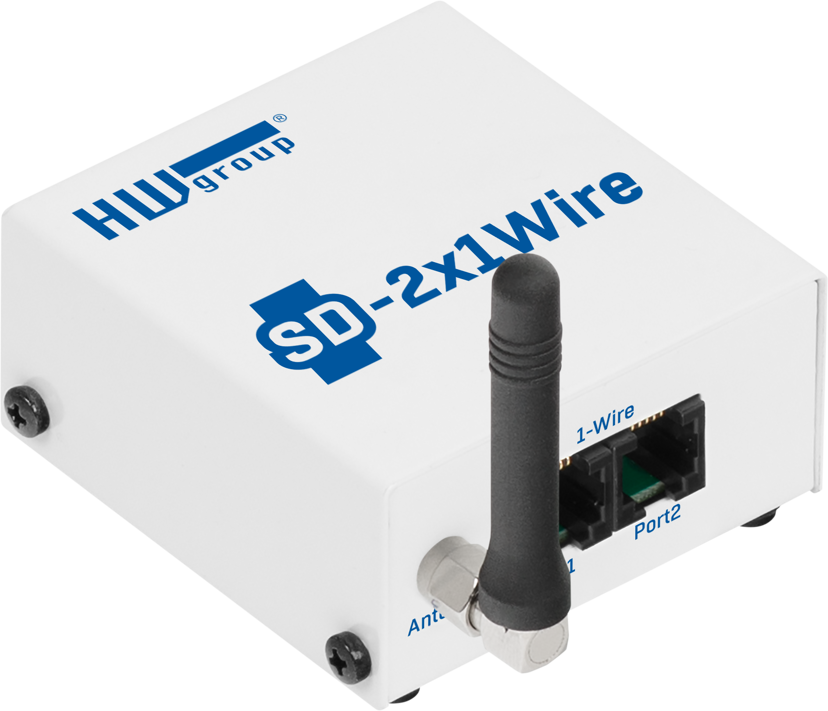 HW-Group SD2x1 Wire WiFi Temperature Sensor