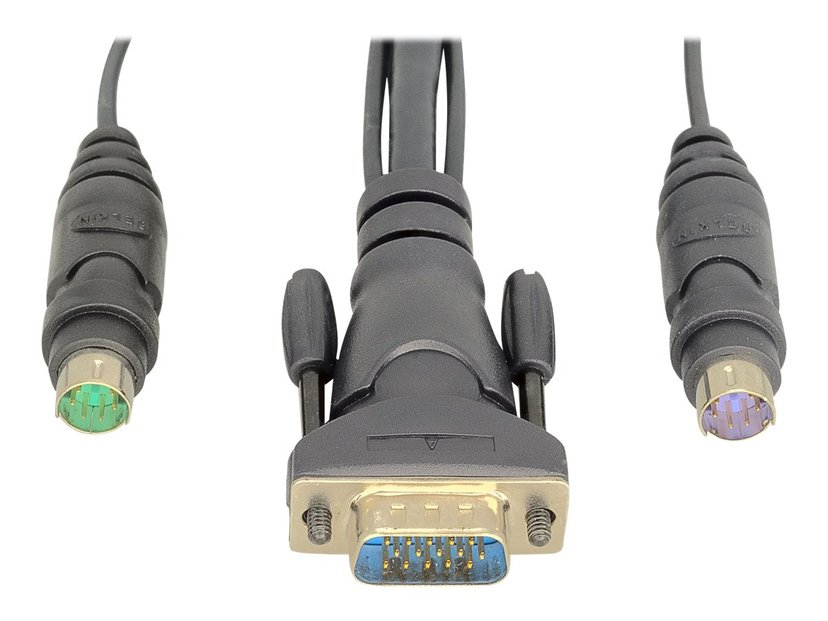 Linksys OmniView Dual Port Cable, PS/2