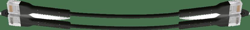 Ubiquiti Unifi Ethernet Patch RJ-45 RJ-45 CAT 6 1m Svart