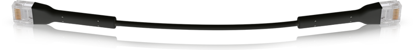 Ubiquiti Unifi Ethernet Patch Svart RJ-45 RJ-45 CAT 6 1m