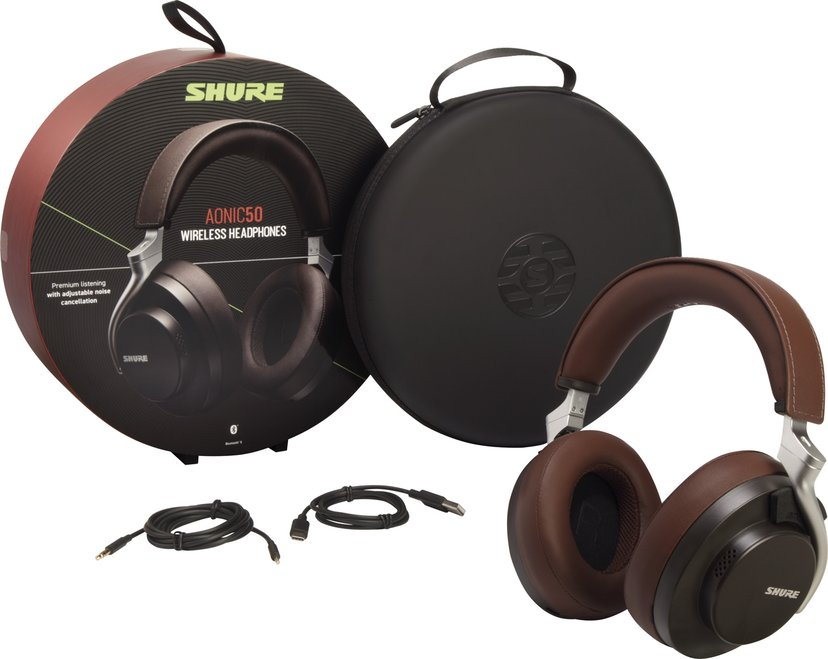 Shure Aonic 50 Premium Wireless Brown #Demo