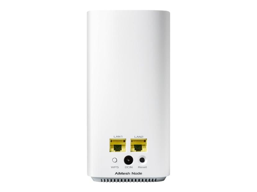 ASUS ZenWiFi AC Mini (CD6) AC1500 2-pack Vit