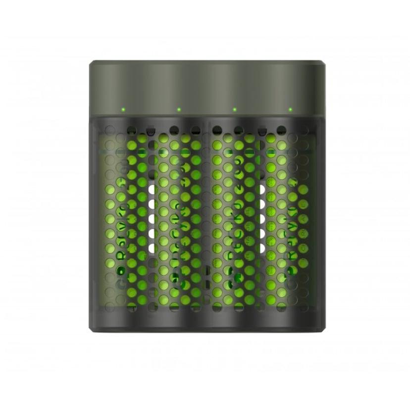 GP ReCyko Speed Charger M451 USB + 4st AA 2600mAh Batteri