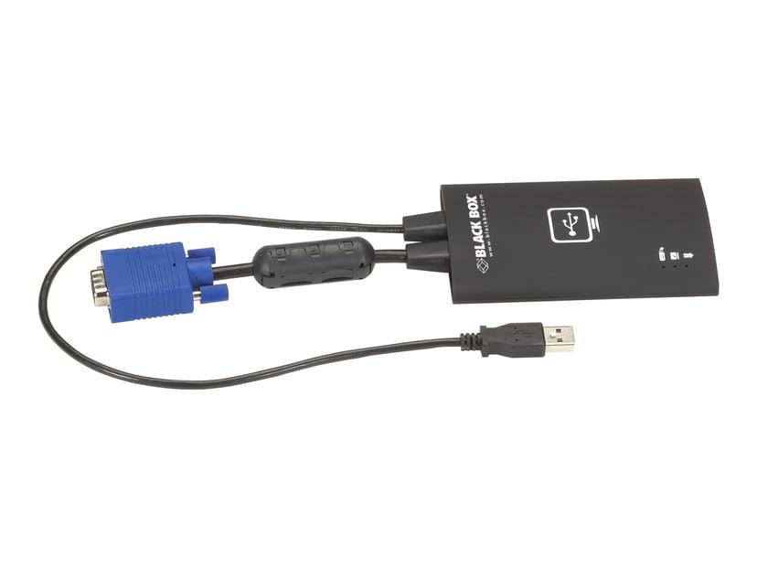 Black Box USB Laptop Console Crash Cart Adapter - VGA USB