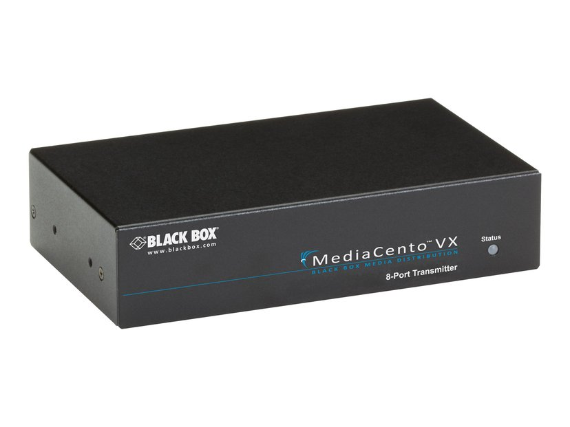 Black Box Mediacento VGA Extender  - 1X8 Audio RS232 Transmitter
