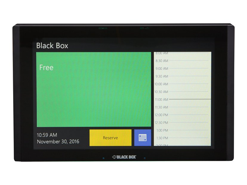 """Black Box IN-SESSION Room Scheduler 12"""" In-Wall"""