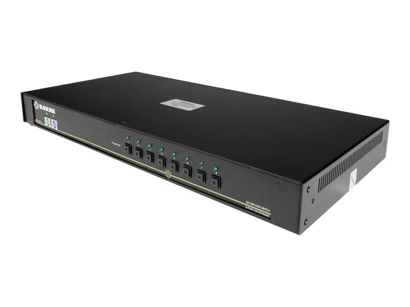 Black Box NIAP 3.0 Secure KVM Switch - DVI-I USB 8-Port
