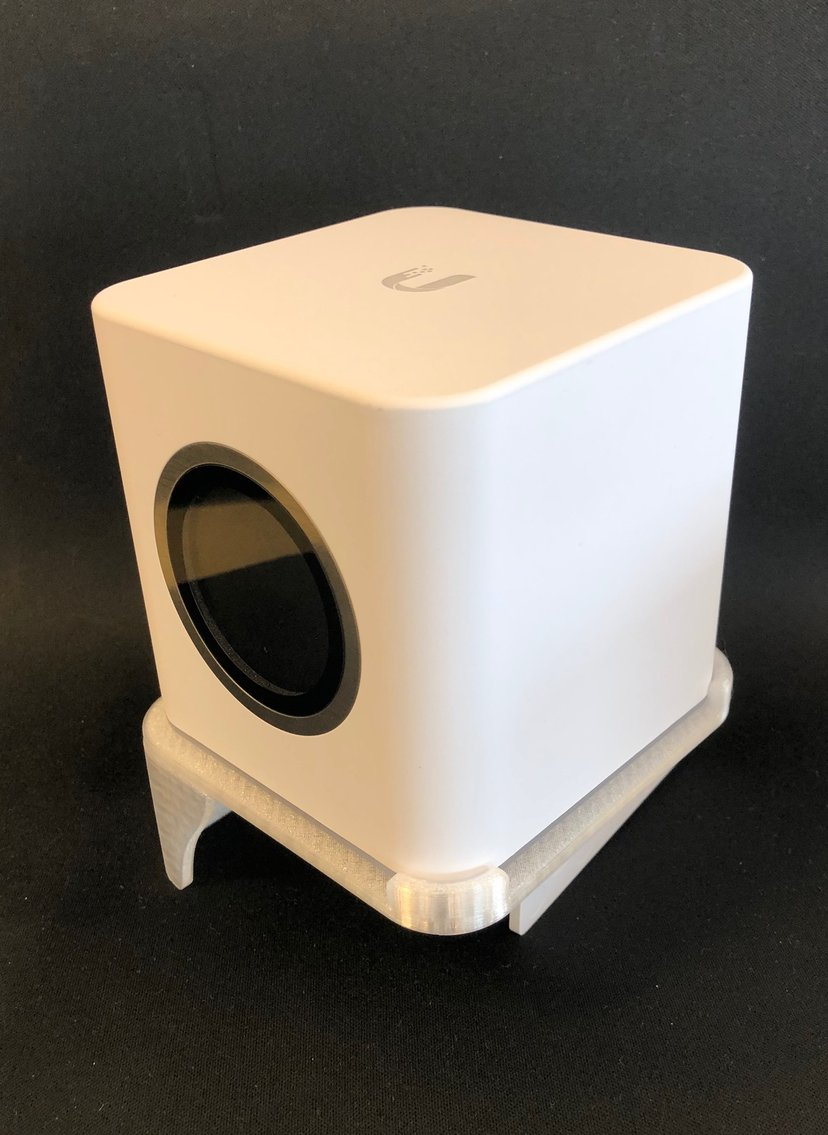 Winther Amplifi HD Wallmount 3D Printed Clear Plastic
