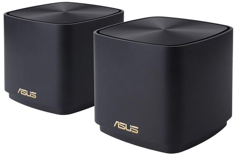 ASUS ZenWiFi AX Mini (XD4) 2-pak Sort