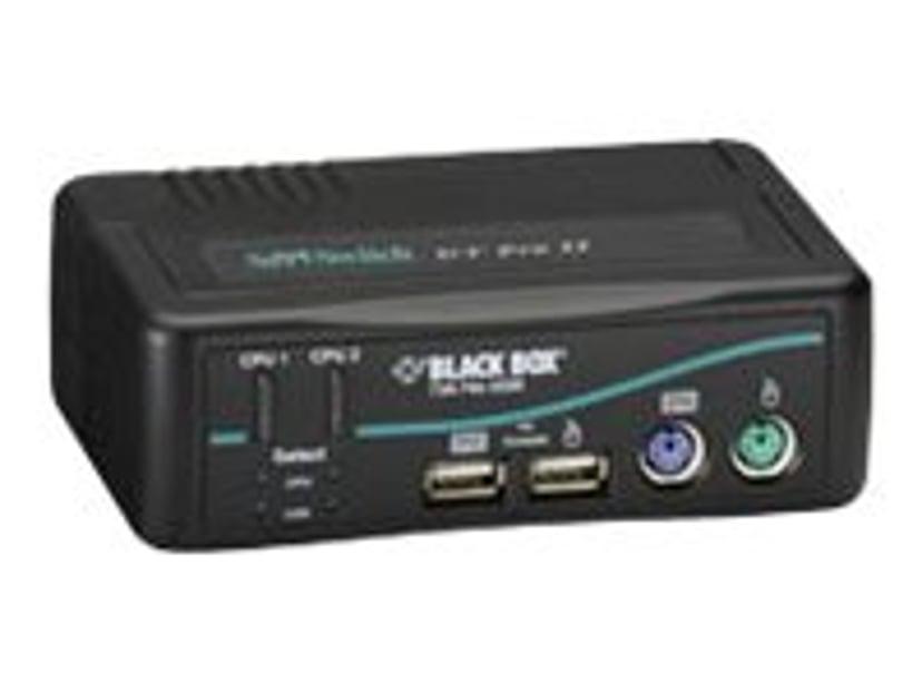 Black Box DT KVM Switch (Incl. Cables) - VGA USB 2-Port